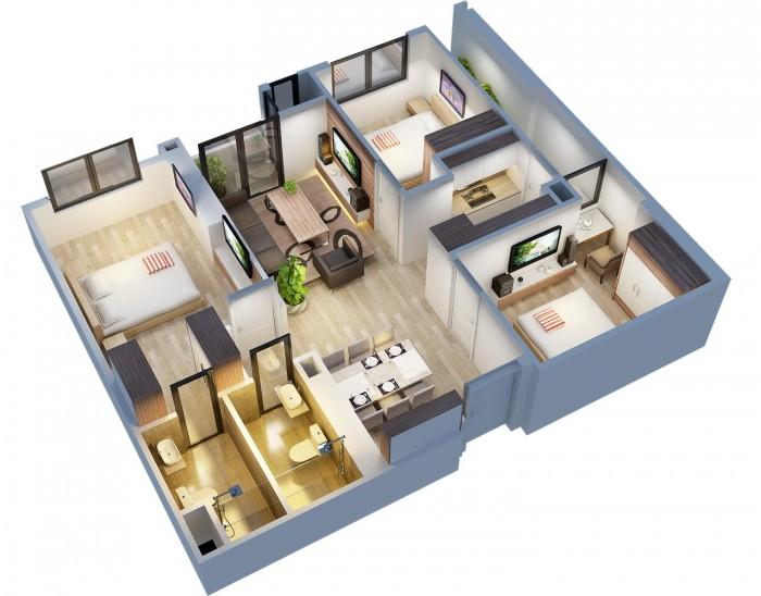 Căn 83,7m2 đang bán gấp tại chung cư An Bình City