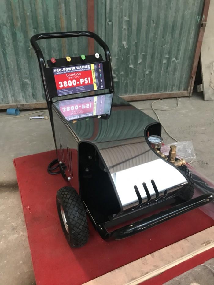 Máy rửa áp lực,đẩy tay BmB 3800PSI 3 pha1