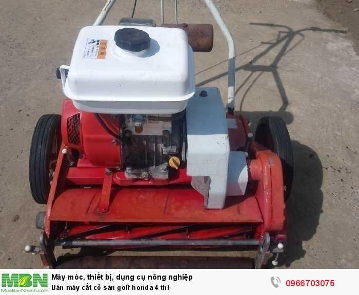 Bán máy cắt cỏ sân golf honda 4 thì