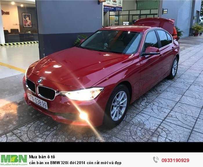 cần bán xe BMW 320i đời 2014 còn rất mới và đẹp