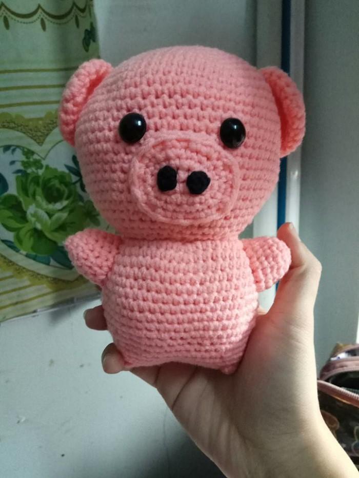 Thú nhồi bông bằng len (hàng handmade)3