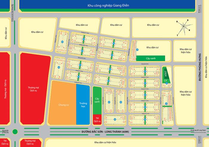 Đất nền Tam Phước mặt tiền đường Phùng Hưng giá tốt chỉ 6,5 tr/m2, sổ đỏ thổ cư 100%