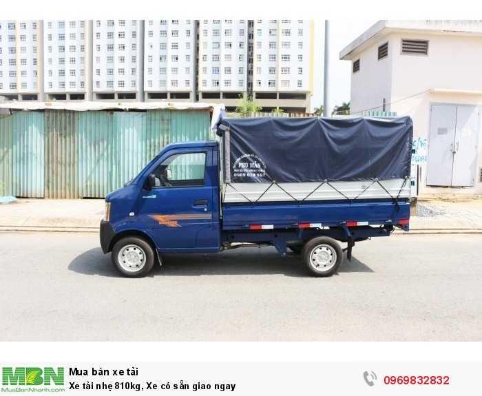 Xe tải nhẹ 810kg, Xe có sẵn giao ngay 3