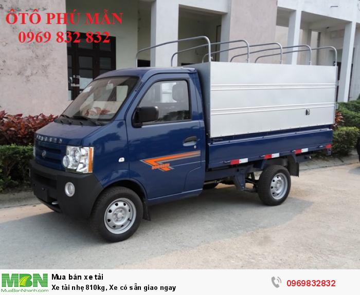 Xe tải nhẹ 810kg, Xe có sẵn giao ngay 4