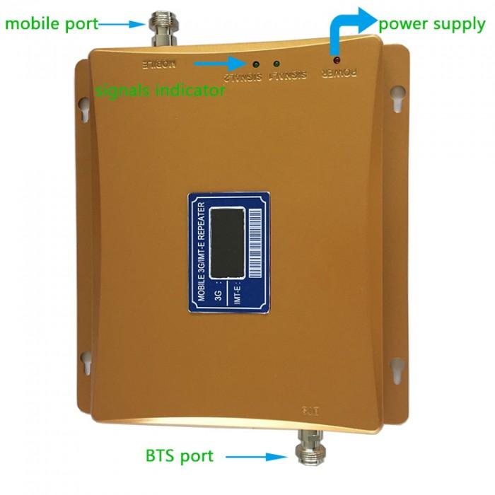 Thiết Bị Kích Sóng Alcom-1000 Repeater Gsm 2G,3G Tất Cả Các Mạng4