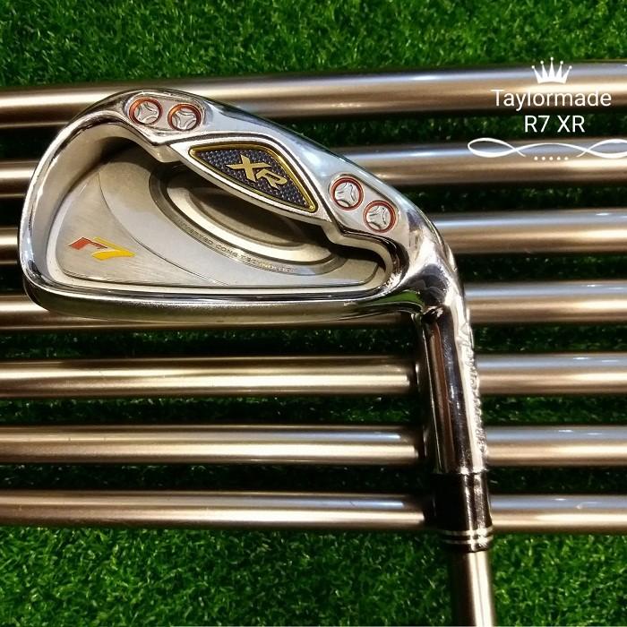 Bộ gậy golf Iron Taylormade R7 XR cũ0