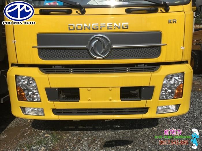 Giá xe tải dongfeng B170 tải 9 tấn thùng mui bạt 0