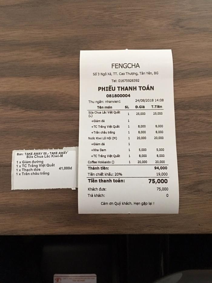 Lắp đặt Máy tính tiền cho Quán Trà Sữa tại Đồng Nai Bình Dương1