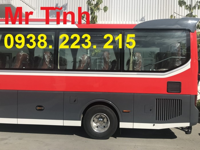 Ưu nhược điểm thông số kỹ thuật nội thất màu giá động cơ Weichai máy nhỏ 29 chỗ bầu hơi tb79