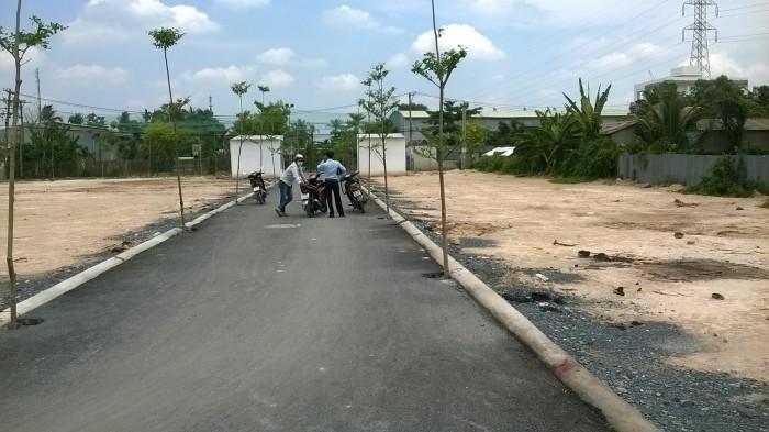 Bán đất 60m2 thổ cư sổ riêng chính chủ ngay cầu ba Thôn đường tô Ngọc Vân quận 12