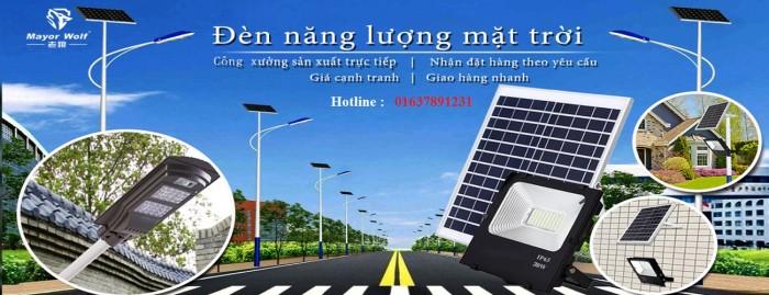 Đèn năng lượng mặt trời,giá xưởng, chính hãng - Mayor Wolf10