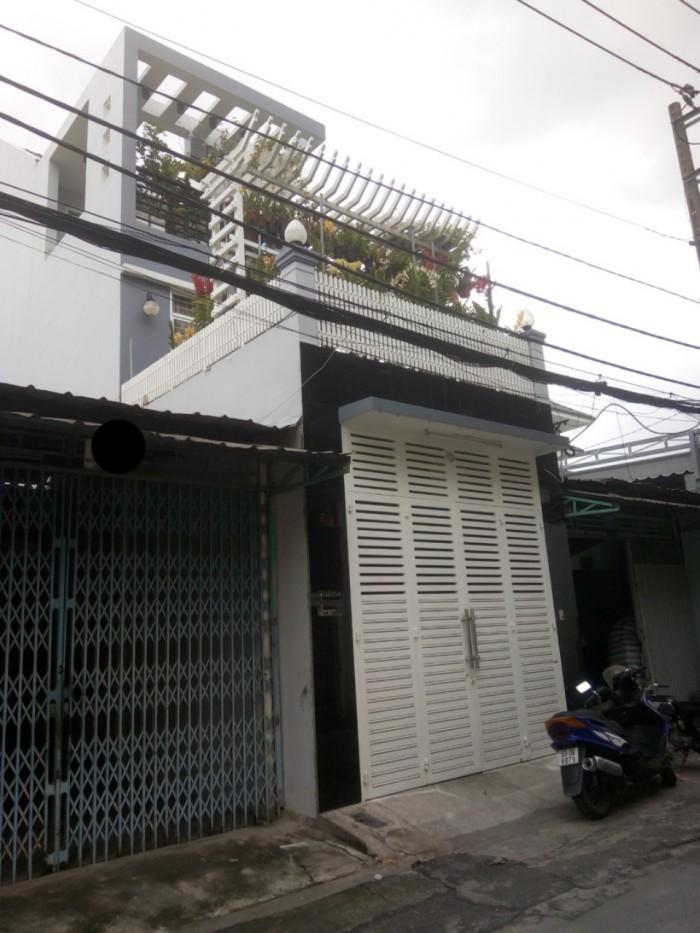 Bán MTNB Nguyễn Nghiêm, Hòa Thạnh, Tân Phú.Dt 4,2x26m 2 lầu ST
