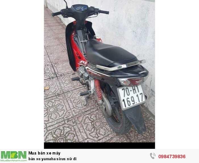 Bán Xe Yamaha Sirus Nữ Đi