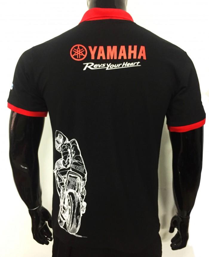 áo thun yamaha in hình xe máy0