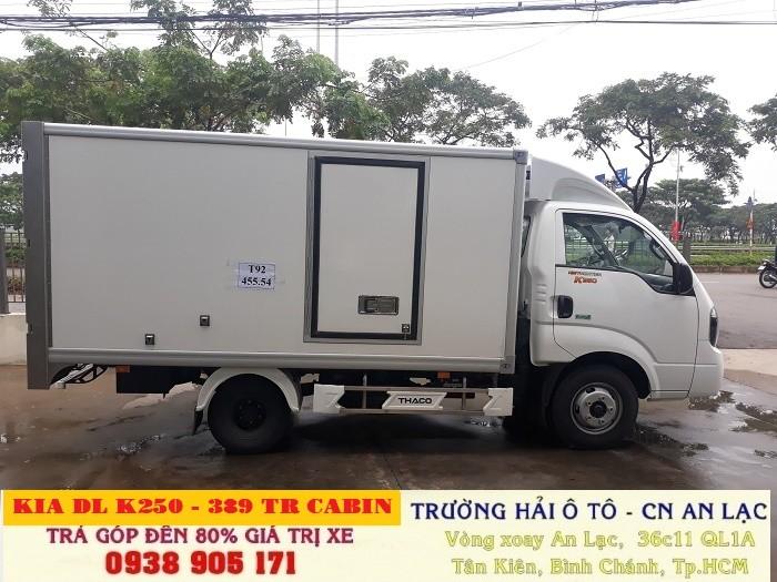 Bán Xe Kia Thaco Đông Lạnh K250, K250 Bongo, Kia K250 Đông Lạnh 2 Tấn