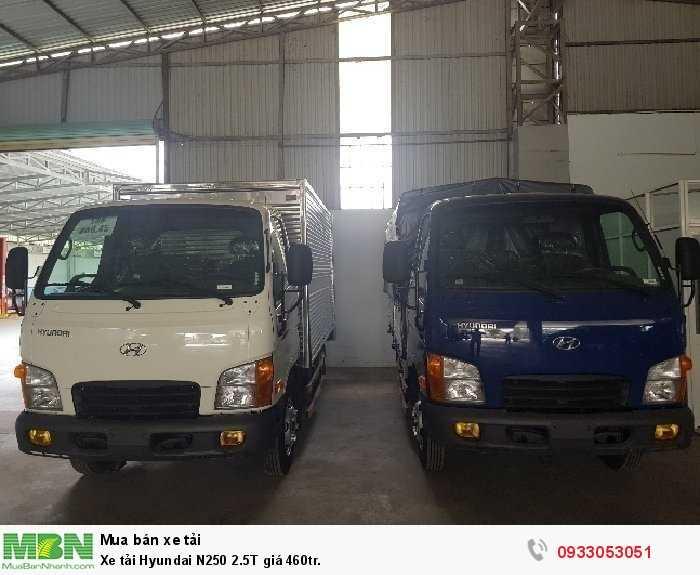Xe tải Hyundai N250 2.5T giá 460tr.