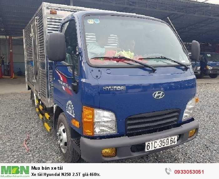 Xe tải Hyundai N250 2.5T giá 460tr. 2