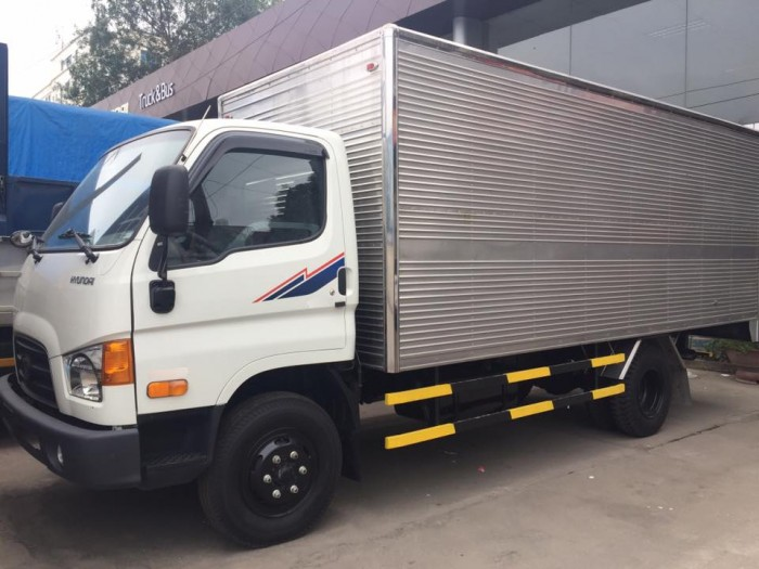 Xe Tải Hyundai HD800 Tải Trọng 8 Tấn, Thùng Dài 5m1, Trả Trước 110Tr Lấy Xe Ngay, Tặng Ngay Định Vị, Phù Hiệu.