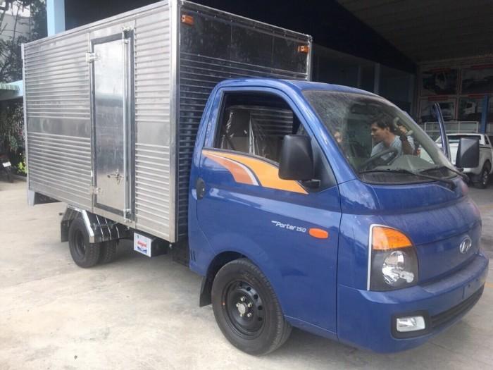 Xe Tải Hyundai Porter H150 Tải Trọng 1,5 Tấn, Thùng Dài 3m2, Trả Trước 90Tr Lấy Xe Ngay, Tặng Định Vị