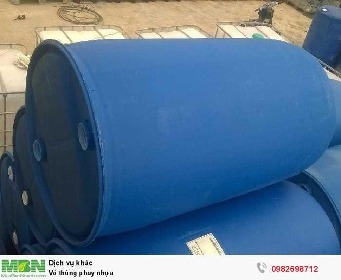 Vỏ thùng phuy nhựa0