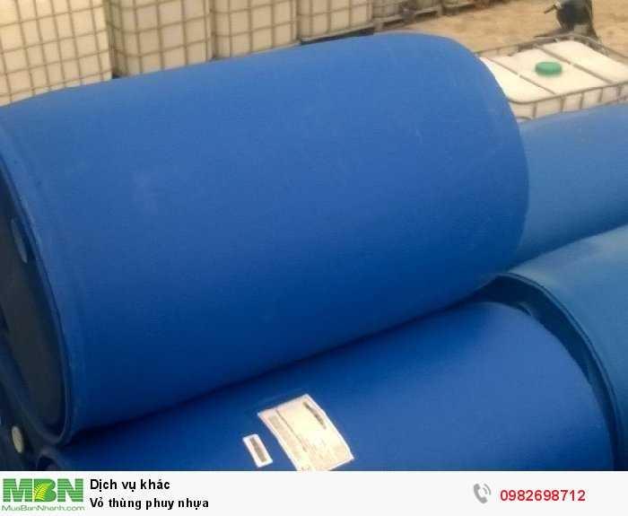 Vỏ thùng phuy nhựa2