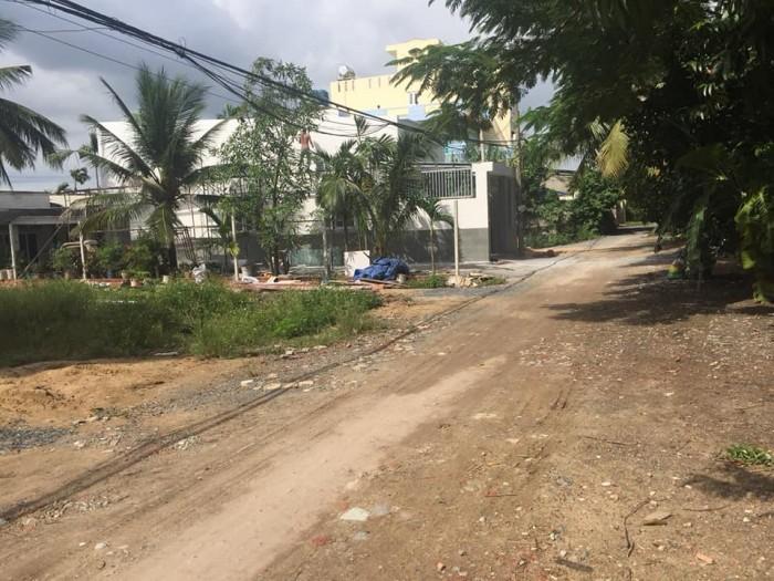 Bán đất mt Rạch đường Thạnh Lộc 41, Quận 12, gần Cao đẳng Điện Lực