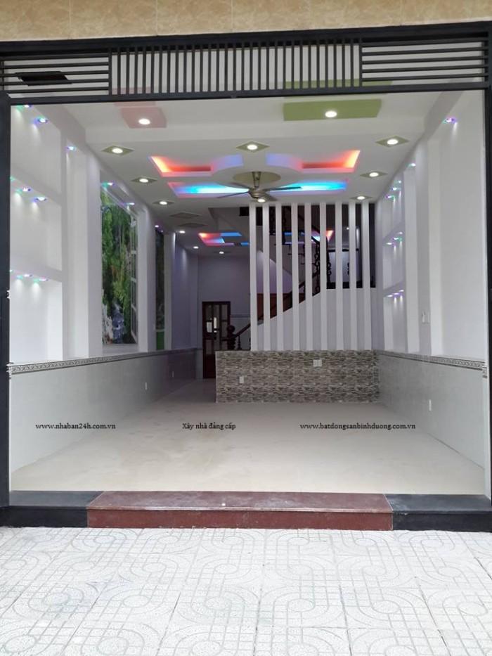 Nhà mới trong khu biệt thự tân thới hiệp,gần giáp quận Gò Vấp
