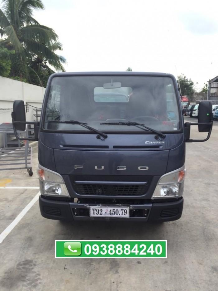 Bán xe tải Mitsubishi Fuso Canter 6.5 mới nhất 2018 Euro 4 tải 3,5 tấn tại Thaco Tiền Giang, Long An, Bến Tre 5