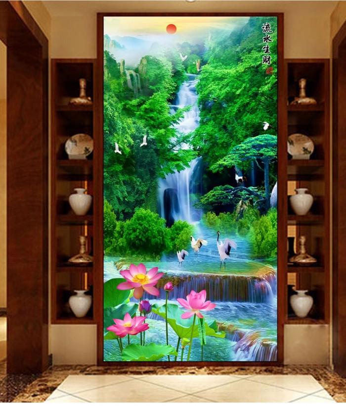 Tranh Gạch 3D Phong Cảnh Thu981