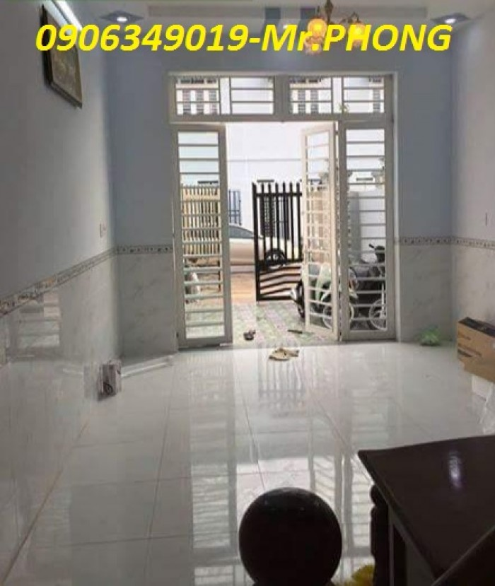 Bán nhà Mặt Tiền sau chợ bình chánh,1.trệt,1.lầu đúc thật, SHR