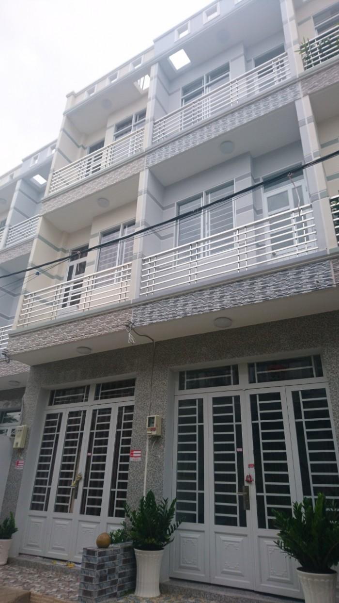 Bán gấp nhà ĐSH đường Nguyễn Bình, Nhà Bè, diện tích 30m2, trệt 2 lầu