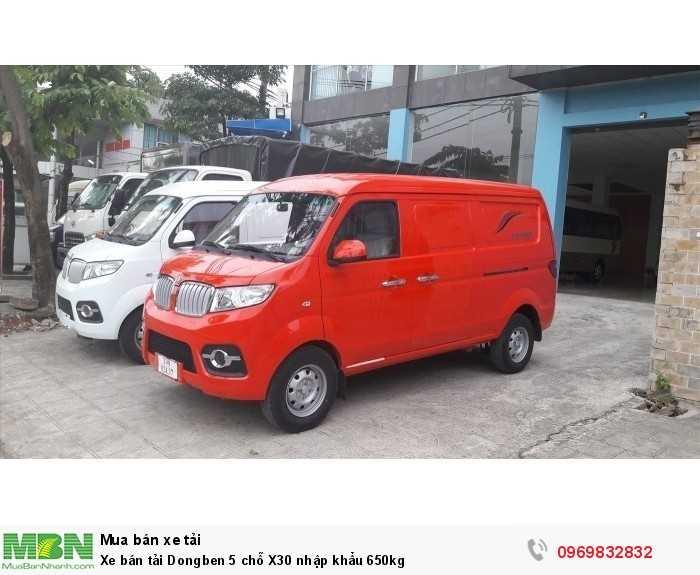 Xe bán tải Dongben 5 chỗ X30 nhập khẩu 650kg