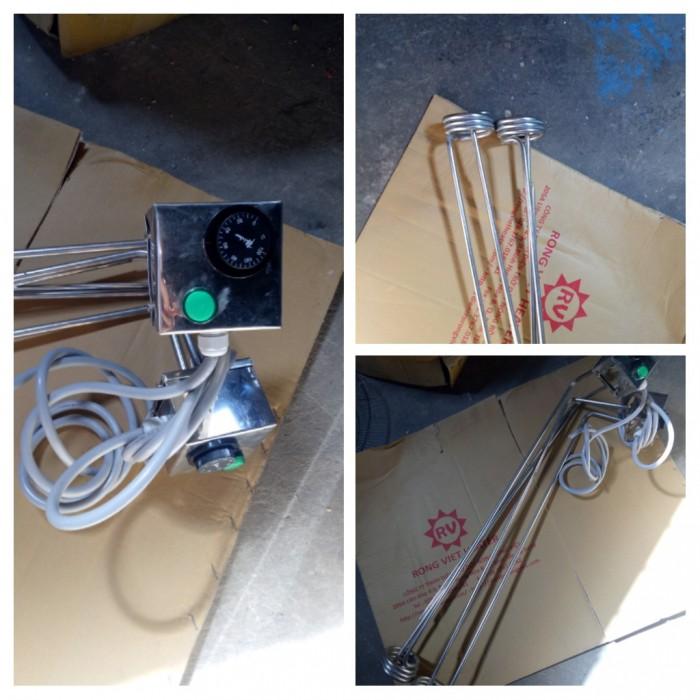 Điện trở đun nước có hộp điều khiển2