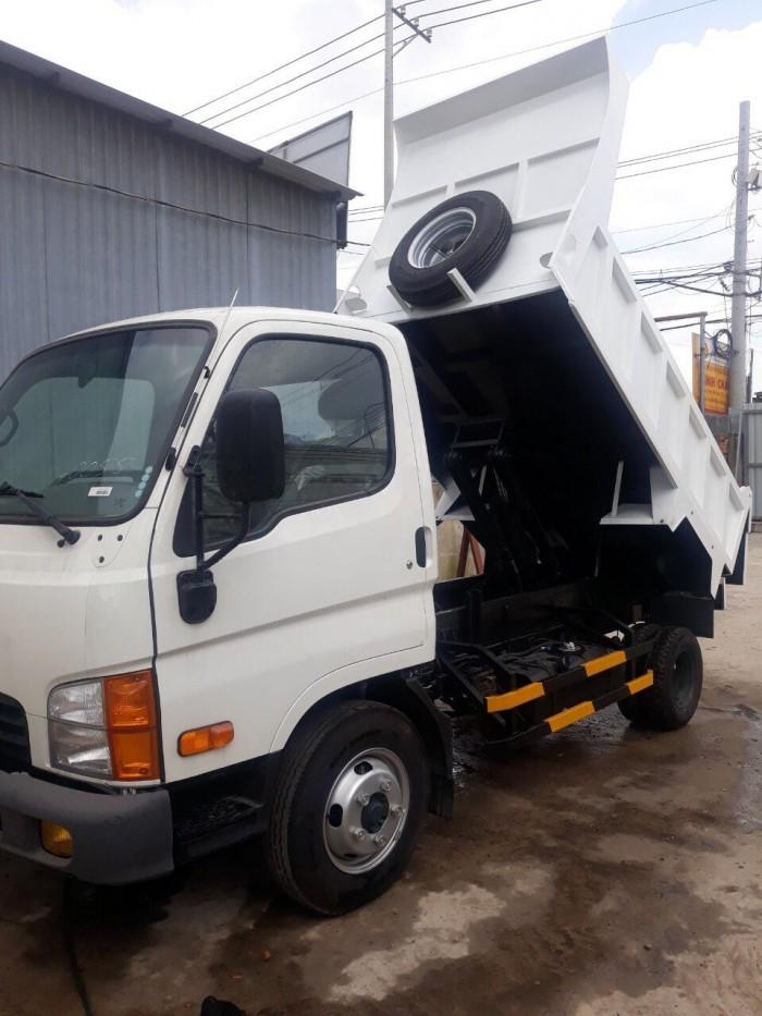 Hyundai Mighty N 250 thùng ben