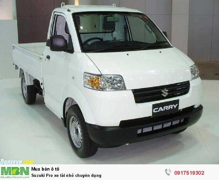 Suzuki Pro xe tải nhỏ chuyên dụng