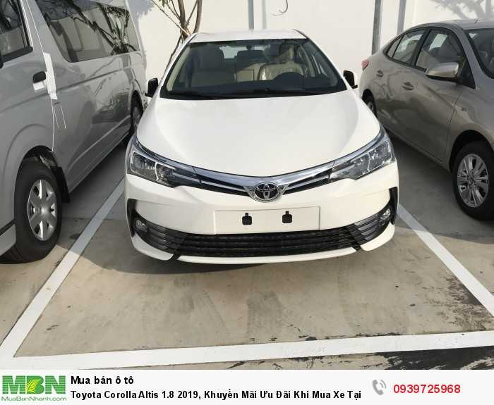 Toyota Corolla Altis 1.8 2018, Khuyến Mãi Ưu Đãi Khi Mua Xe Tại Toyota An Thành Fukushima