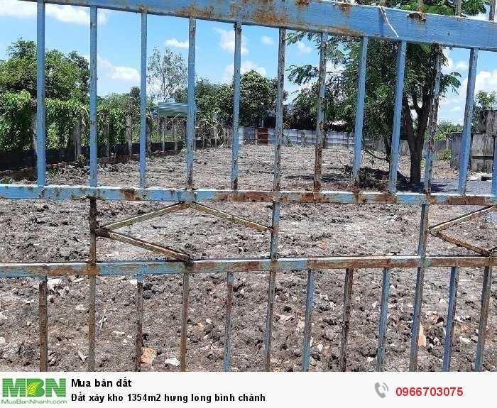 Đất Xây Kho 1354m2 Hưng Long Bình Chánh