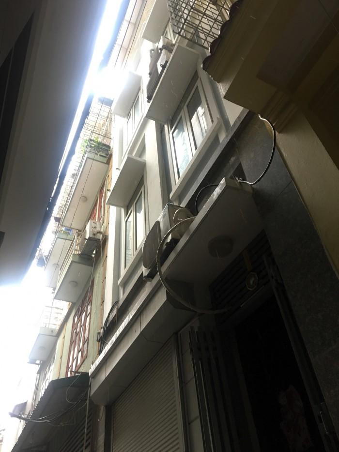 Bán nhà ngõ Gốc Đề, Hai Bà Trưng, ô tô gần nhà, diện tích 22m2