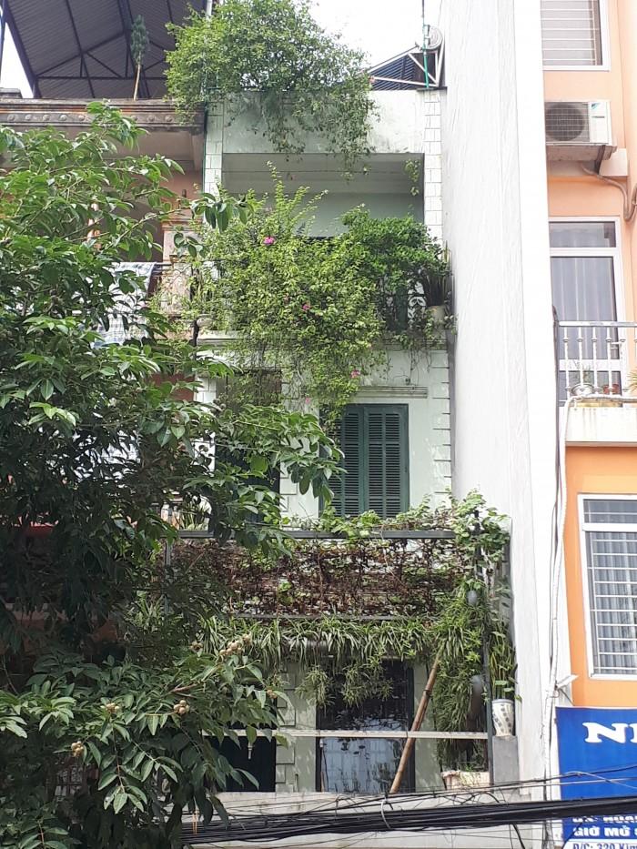 Bán nhà mặt đường Kim Giang