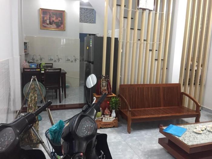 Bán nhà Gò Vấp Nguyễn Thái Sơn 45m 2 lầu ở ngay.