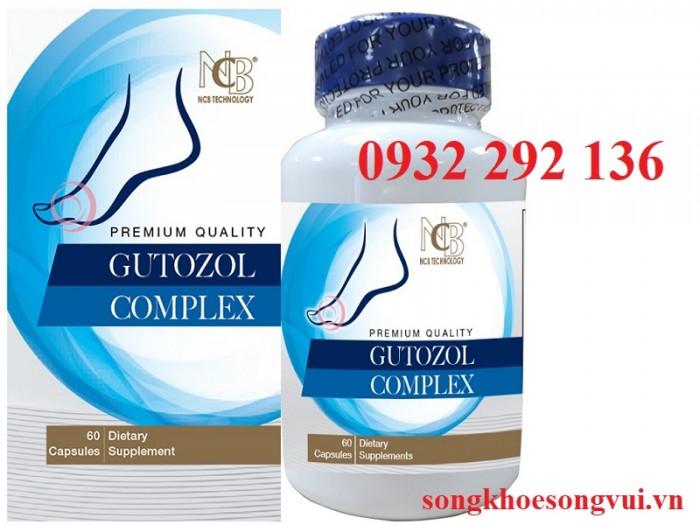 Viên GUTOZOL COMPLEX  giúp giảm đau nhức khớp do gut, ngăn ngừa biến chứng do bệnh gut. Hỗ trợ trung hòa acid uric, tăng đào thảo acid uric và  giảm hình thành hạt tophi tại các ổ khớp. Liên hệ 0932 292 136 để được tư vấn và giao hàng0