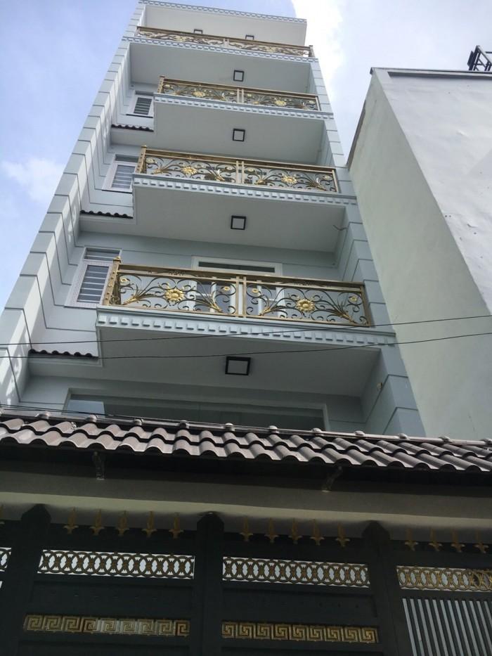 Nhà ở mới đẹp Phường 8 quận 3, giá 7.2 tỷ đường Nam kỳ Khởi Nghĩa, 67m2, 4 lầu.