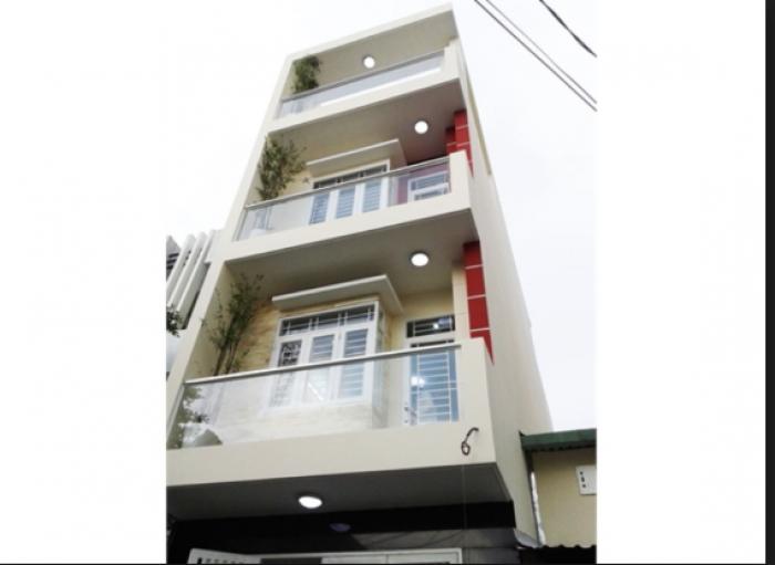 Chính chủ cần bán nhà Mt đường Lưu Hữu Phước p15,Q8 nhà 3 tầng