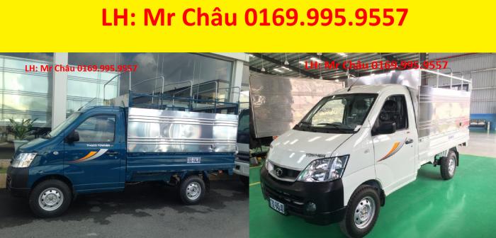 Xe tải nhỏ Hiệu Towner 990 thiết kế sang trọng thẩm mỹ. Tây Ninh