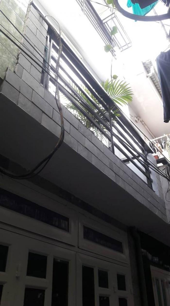 Nhà bán đường Huỳnh Văn Nghệ,p12 Gò Vấp ,dt, 3x6 đúc 1 trệt, 2 lầu,