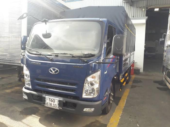 Xe tải Hyundai IZ65 2.5 Tấn Thùng Bạt - Tặng kèm máy lạnh , định vị GPS , phù hiệu hợp tác xã