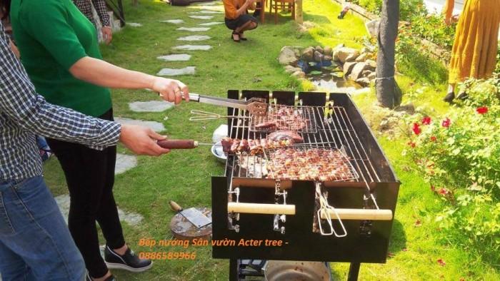 Bếp nướng ngoài trời , bếp nướng sân vườn Acter tree Ck3502