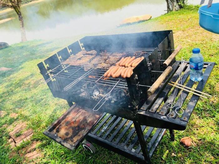 Bếp nướng ngoài trời , bếp nướng sân vườn Acter tree Ck3500