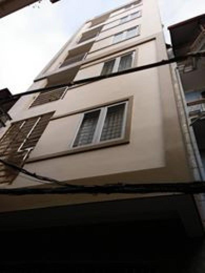 Nhà Mới Đẹp, Oto Qua, P.lô RB Phố Trương Định 36m2*4T
