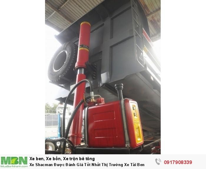Xe ô tô tải tự đổ Shacman Rita Võ Auto - Ga cơ 2017 !!!